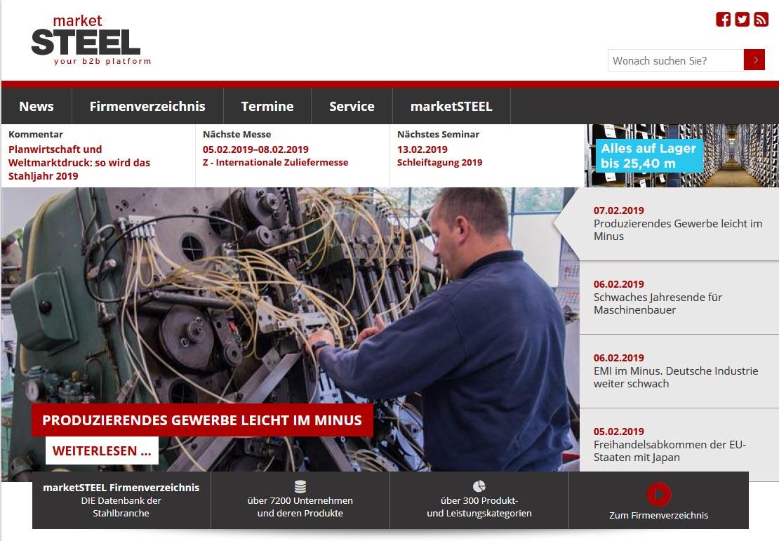 market-steel-website